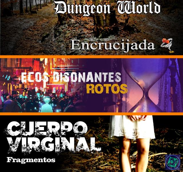 Resumen semanal L: 3ra sesión de #Encrucijada ( #WarhammerFantasy ) con #DungeonWorld de @Nosolorol X: 3ra sesión de #Rotos ( #EcosDisonantes ) de @TheHillsPress S: #Directo a las 22:30, partida #CuerpoVirginal ( #Fragmentos ) en las jornadas #CyberInsomne2020. Buena semana https://t.co/aKaMCwLltb