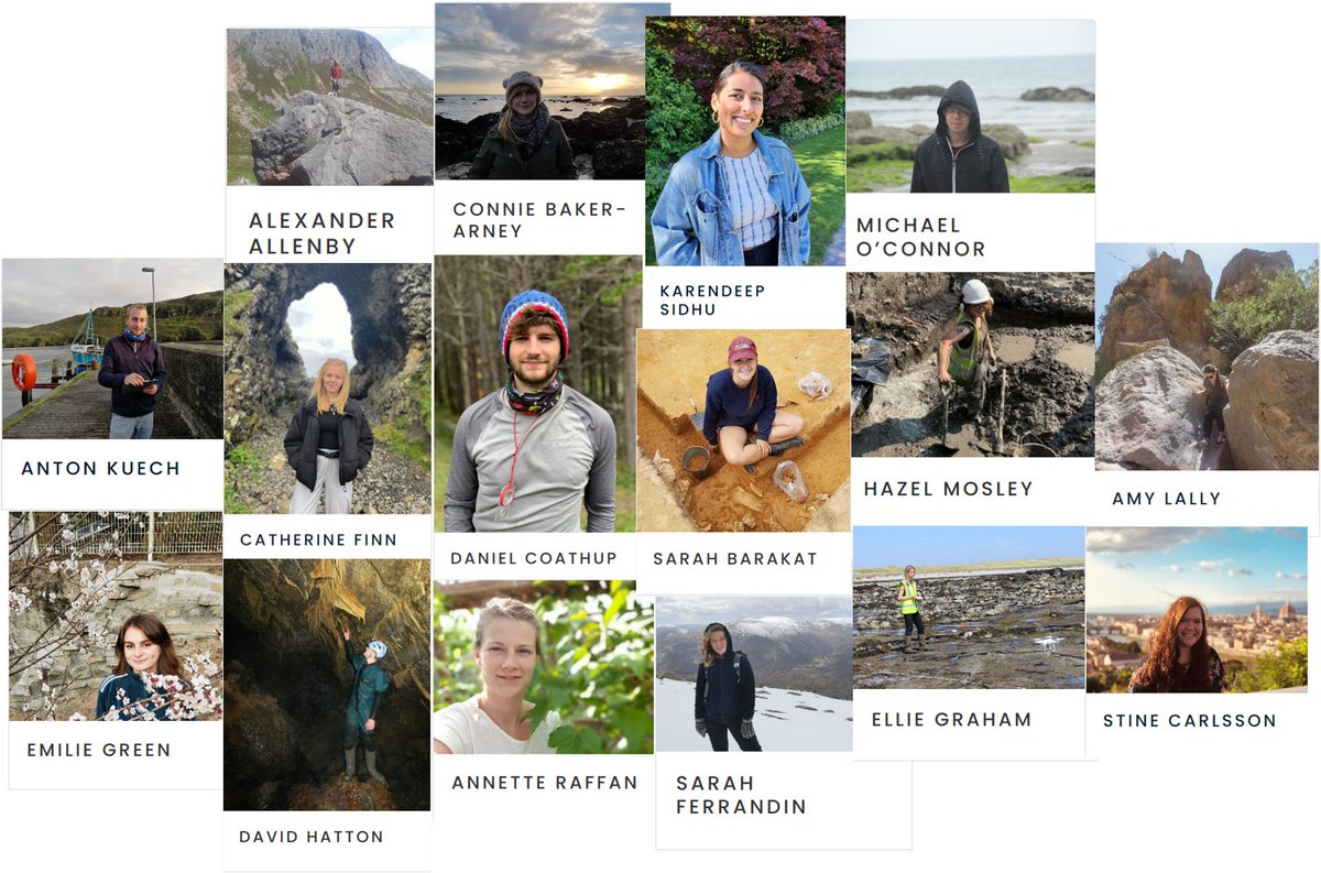 Our 2nd cohort of students begin their @QUADRATdtp PhD's on 1st October and we are thrilled to introduce them! Check out their profiles on our website to find out more about them! @UoABioSci @UoA_Archaeology @UoAGeosciences @QUBNBE @QUBbioscience @NERCscience https://t.co/2EJfG38dW7