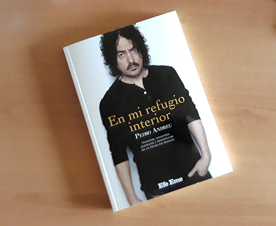 En Efe Eme acabamos de publicar, con todos los honores, En Mi Refugio Interior, un libro de escritura vibrante y urgente en el que Pedro Andreu, batería de Héroes del Silencio, echa la vista atrás. Ya a la venta en Efe Eme: https://t.co/Z1eRQqGKRY #PedroAndreu #HéroesdelSilencio https://t.co/8Mo1zyQJMZ