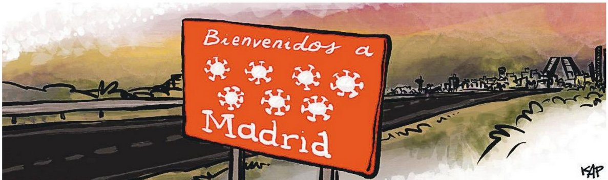 Bienvenidos a Madrid by @kapdigital https://t.co/PSLWp0Gh7O