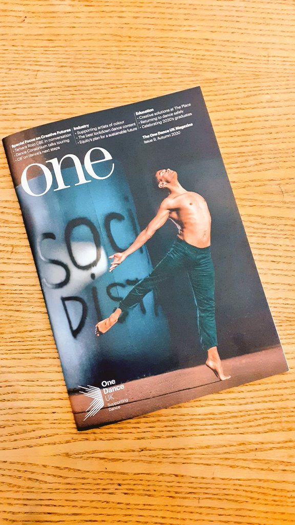 A Monday is always improved by the arrival of #one   Cheers all at @onedanceuk @OneDanceUK_Rep #cardiff #communitydance #dance #adamsdown https://t.co/dksr2v48TM
