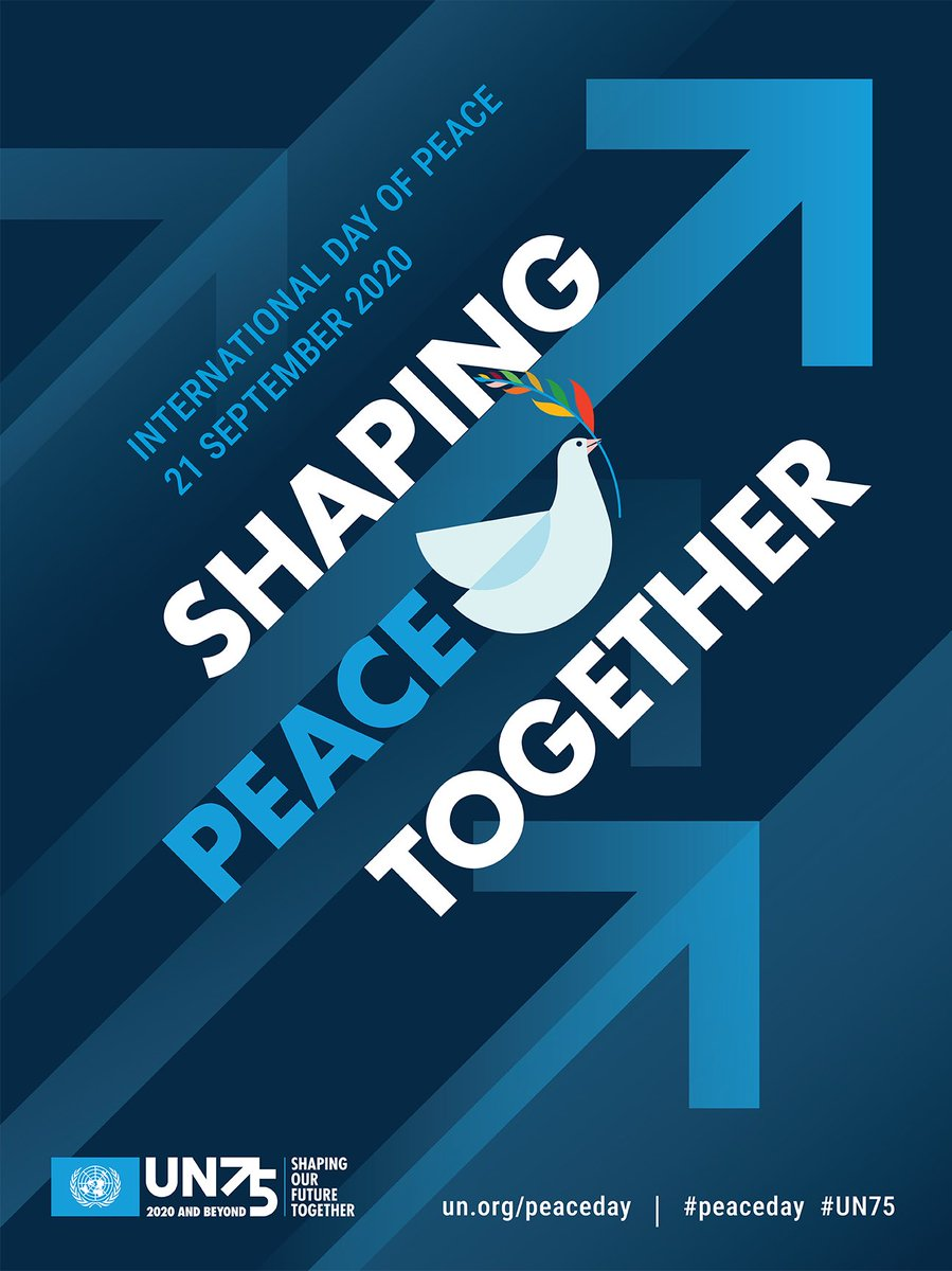Today is #InternationalDayofPeace. The UN General Assembly has declared this as a day devoted to strengthening the ideals of #peace, through observing 24 hours of non-violence and cease-fire. https://t.co/LXzgo3oBpS https://t.co/RWVzr7Q1wx