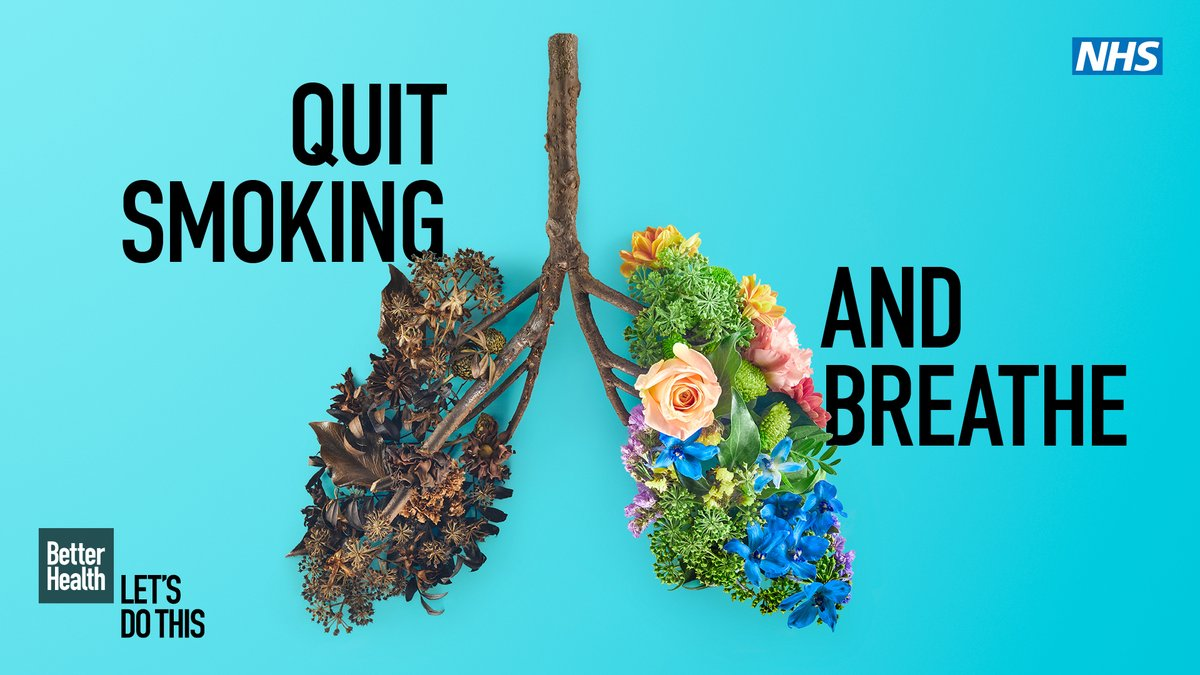 72hrs after stopping smoking your lungs start to clear, breathing is easier & your energy levels increase!  If you're 40+ & live in Staffordshire you can access FREE SUPPORT to help you quit smoking!   👇  Visit: https://t.co/mruxz4nLqZ  #Stoptober #BetterHealth #quitsmoking https://t.co/vZpDYb083m