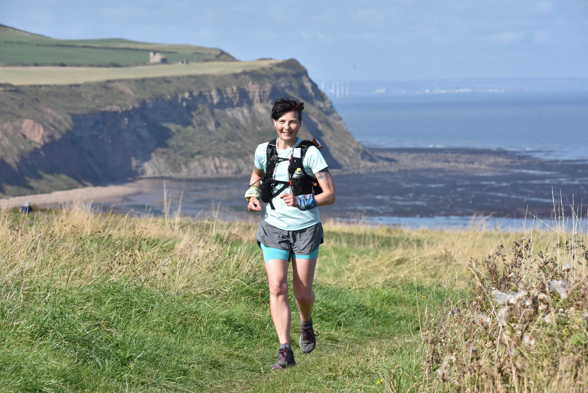 My official race photo from Saturday @HardmoorsUltras. Just love the location of the races and the whole Hardmoors family #hardmoors #trailrunning #run1000miles #247running #parkrun #ukrunchat @TrailRunningMag (and a reminder of the elevation) https://t.co/ejeOMT5PpY