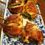 Image for the Tweet beginning: 秋の包み焼き(しいたけ)です。#ぐるなび鳥兆 #八王子エール飯