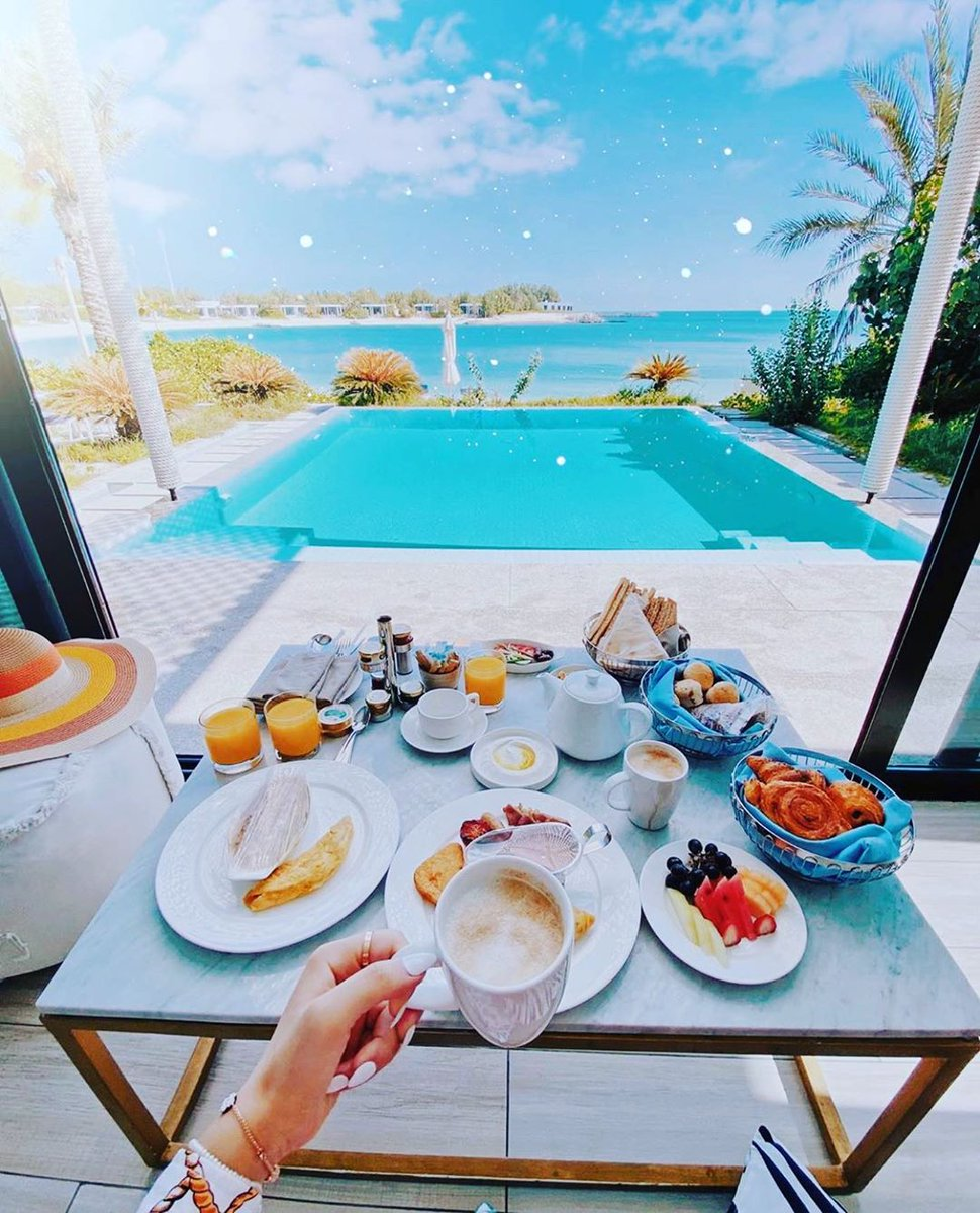 With heavenly views and scrumptious breakfasts like this...who needs anything else in a holiday 🏝 ? Your extraordinary moments are waiting for you, till then #StaySafe #ZayaNuraiIsland https://t.co/rDCzU11IN1