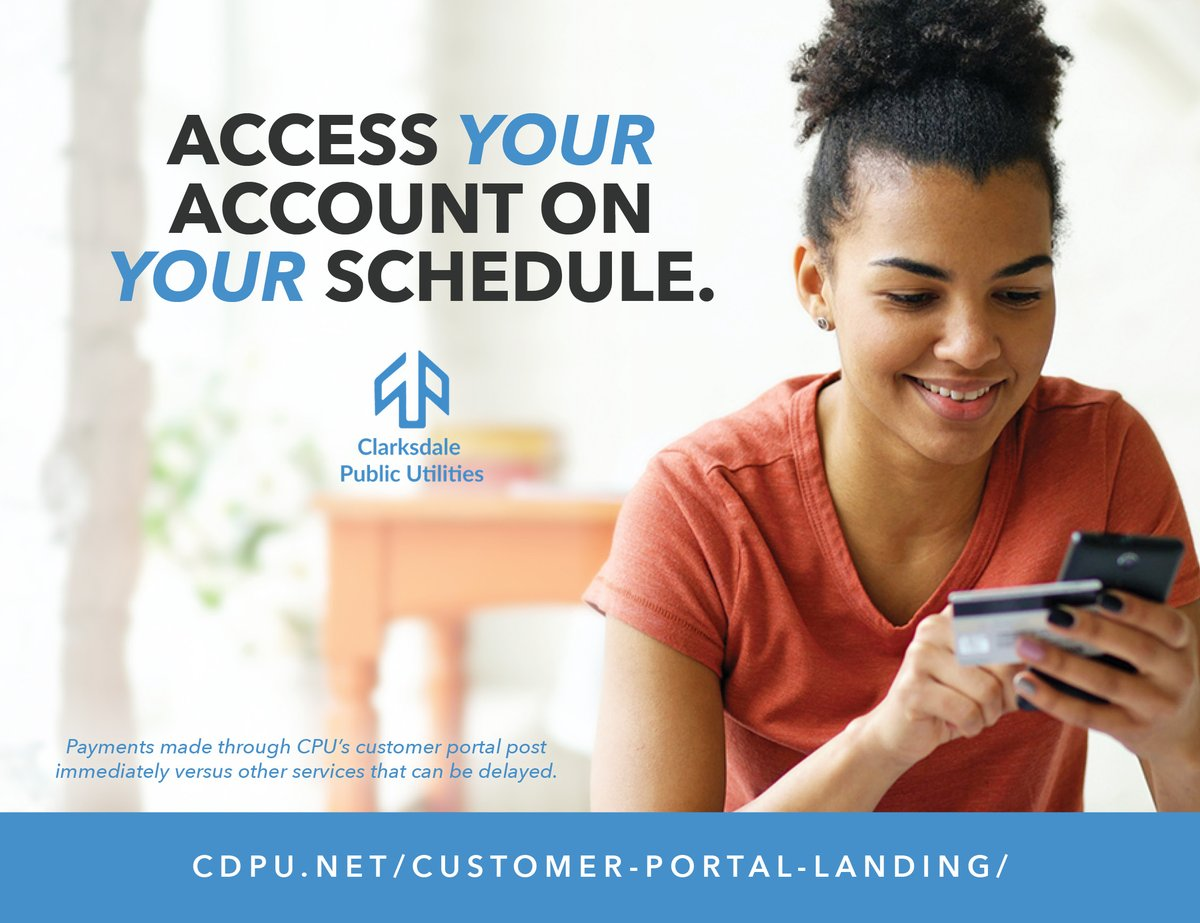 Access your account on your schedule.  Our customer portal allows us to communicate with customers via alerts sent by text and email messages about outages, new billing, due date reminders, or account changes. Check it out: https://t.co/yWdKa8WVD7  #BrightFuture https://t.co/cb0aDc7mvw