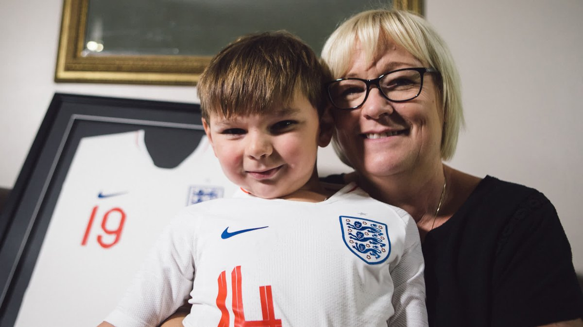 When Tony met Tammy 😍     Five years old. More than £1.6 million raised for charity. A special surprise for a truly inspiring young boy ❤️