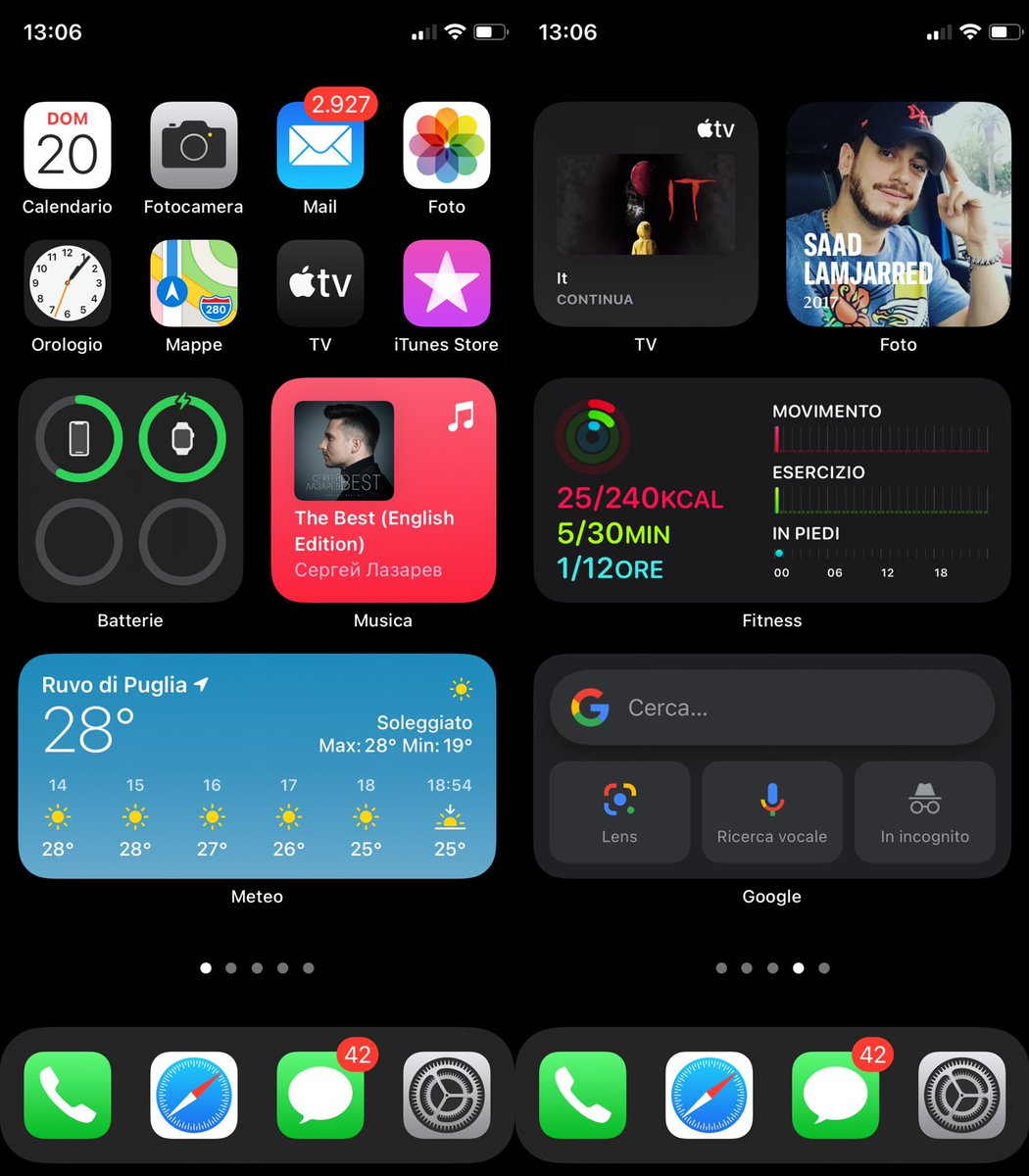 #ios14homescreen