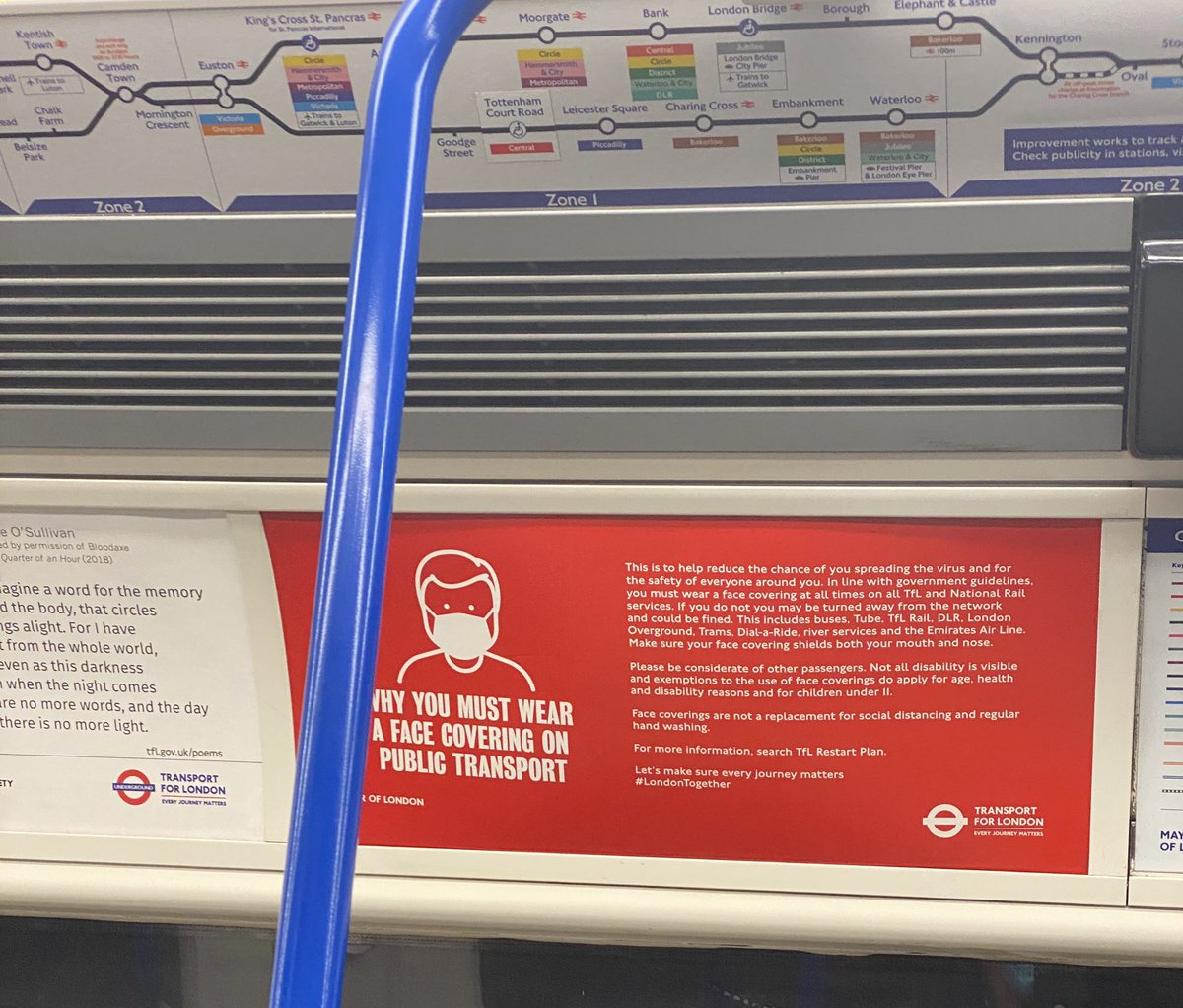 Why you must wear a mask on public transport. ZOOM IN #tfl #underground #metro #london #athens https://t.co/JbxjrUcZqc