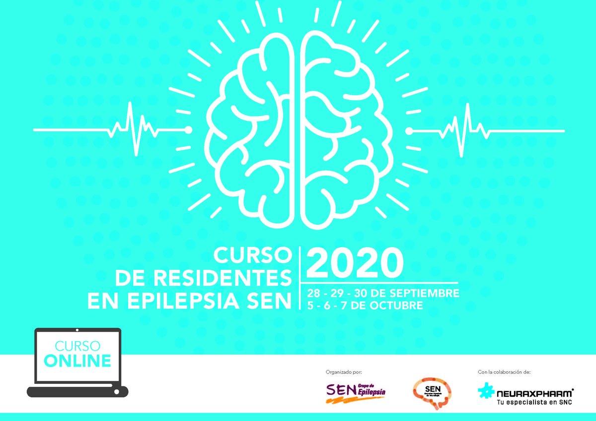 RT @seneurologia: El Curso de Residentes en Epilepsia de la SEN se realizará online los días 28 y 29 de septiembre y 5, 6 y 7 de octubre. https://t.co/Qt8nkuxPAx #epilepsia #Neurologia https://t.co/fDRWGIaKEg
