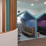 Successful handover accepted for the stunning new cafe and entrance at @Wrightington16 hospital @wwlnhs. Great work from Scholfield and sons and their team.