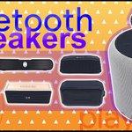 Image for the Tweet beginning: Bluetooth speakers