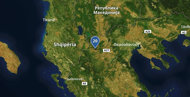 Coldest Greek location is #Kastoria: 20℃ Time: 12:35:39 https://t.co/Mv3n5ee9TH