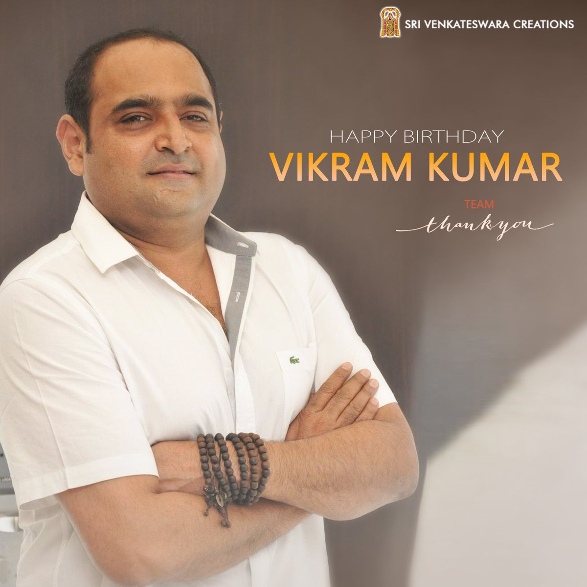 Wishing our Director @Vikram_K_Kumar, a very happy birthday - Team #ThankYouMovie https://t.co/c1ITJfb2In