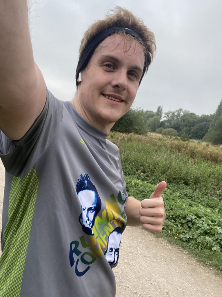Did the virtual @EalingHalf listening to @RunComPod - and got a call-out for the Richmond 10k at just the right moment to put some energy back in my legs! Thanks all - keep calm and run on! #EalingFeeling #EalingHalf2020 https://t.co/5fUX1uD7gx