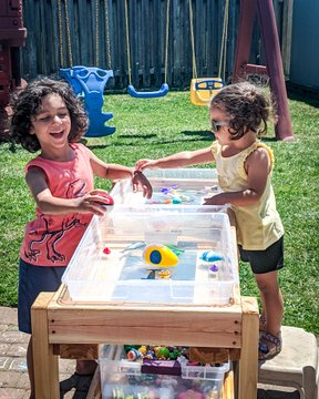 Thanks to grandpa for making us thing amazing water station. #summervibes #summerfun https://t.co/QhmSk1Ial1   Check us out at https://t.co/DXpnm8r7FT https://t.co/lgaLmbNPgE