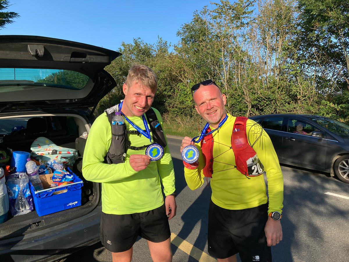 BZ to CPO Thomson who successfully completed the Belfast to Dublin ultra marathon in 29hrs 32 mins! He has already smashed the original fundraising  target but any donations will be appreciated! https://t.co/Lv89OhcQ8S #ultramarathon #fundraiser https://t.co/zcyVQTjhYP