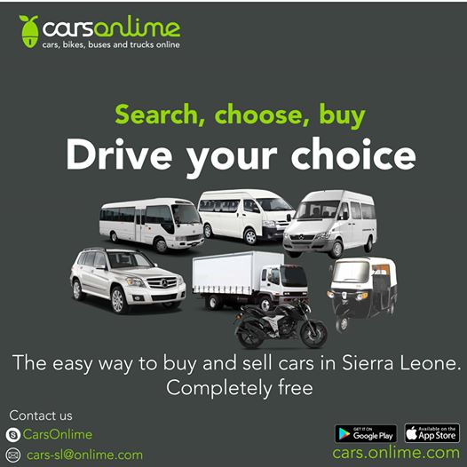 #CarsOnlime is the fastest way to sell your car! Visit us now on https://t.co/0oyAapXKJE to have another look across 100 vehicles. Join the smart community of buyers and sellers Download #CarsOnlime from here: https://t.co/a3agS9PJGN #SierraLeone #Freetown https://t.co/P651PUIsuR