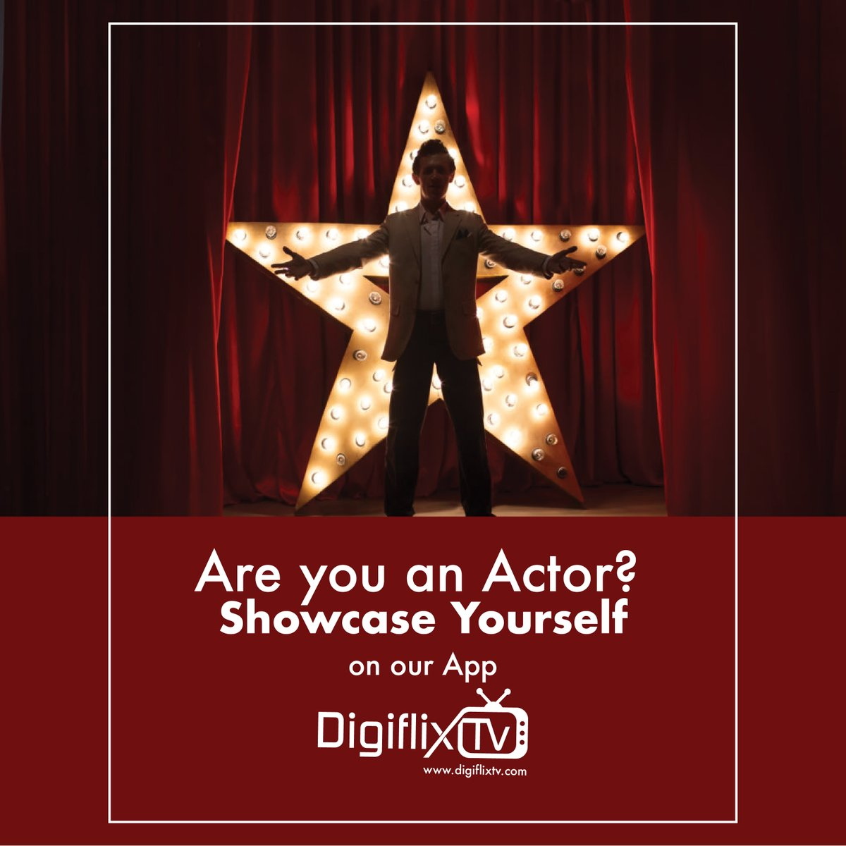Are you an Actor ? Come join us on #DigiflixTV and get a chance to get casted in our next movie.  #actor #actress #model #film #actorslife #movie #hollywood #bollywood #acting #cinema #instagram #photography #artist #instagood #art #movies #fashion #theatre #actors #drama #tv https://t.co/7uI2ref359