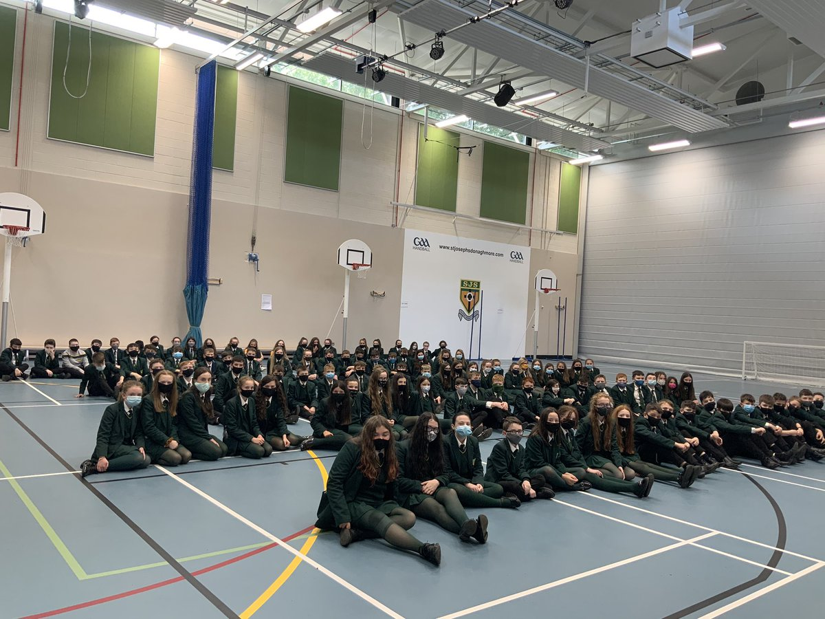 Year 9 Assembly took place on Friday 18th September in the sports hall. It was great to welcome all students officially back to school. #goodluckintheyearahead @SJS41 https://t.co/ZxAZX0d7VL