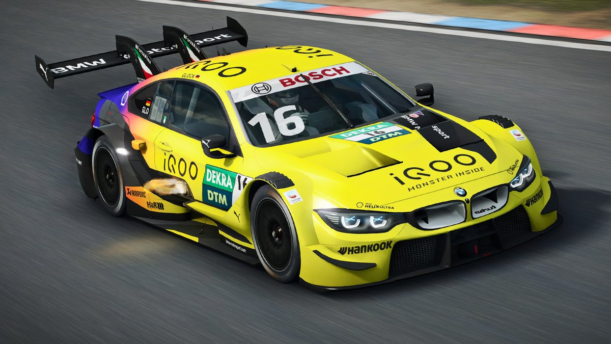 🎮 BMW works drivers 🎮 Ambitious sim racers 🎮 The virtual BMW M4 DTM  This guarantees lots of action.💥  The @DTM Esports Championship starts tomorrow.  All information about the new format can be found here 👉🏻 https://t.co/tgDpV3s7oJ    #BMWSIM #BMWEsports https://t.co/F7iL7vOE8j