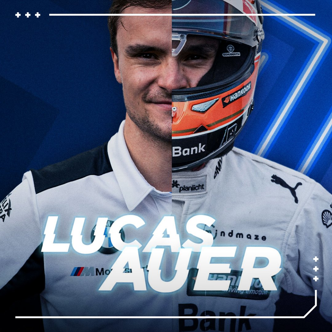 Also at the wheel of a virtual BMW M4 DTM: @LucasAuer1.  #BMWSIM #BMWEsports https://t.co/HfNNiwGEKc