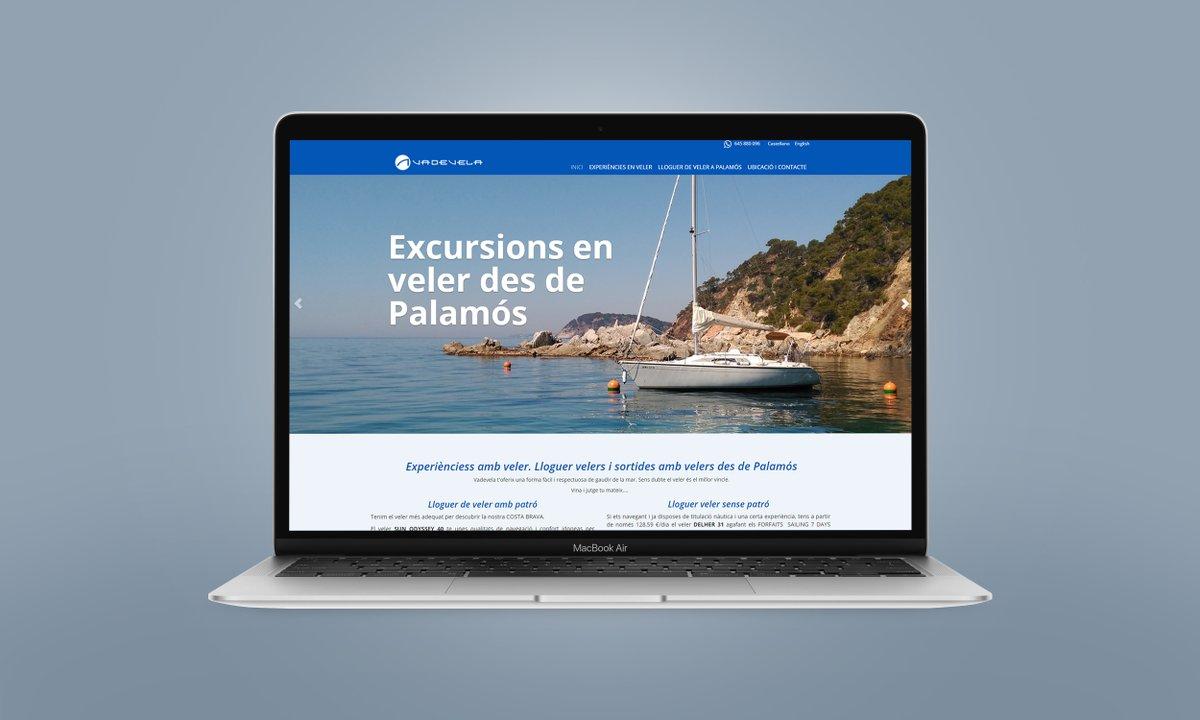 ⛵️ Renovació del web a format adaptable als dispositius mòbils per @vadevela, lloguer de #velers i sortides amb velers des de #Palamós.  Descobreix-la a 👉 https://t.co/xz1DYYrtUp  #web #webgestor #cms #dissenyweb #dissenywebgirona #responsivewebdesign #serveisweb #labisbal https://t.co/Bz0jRt1sdI