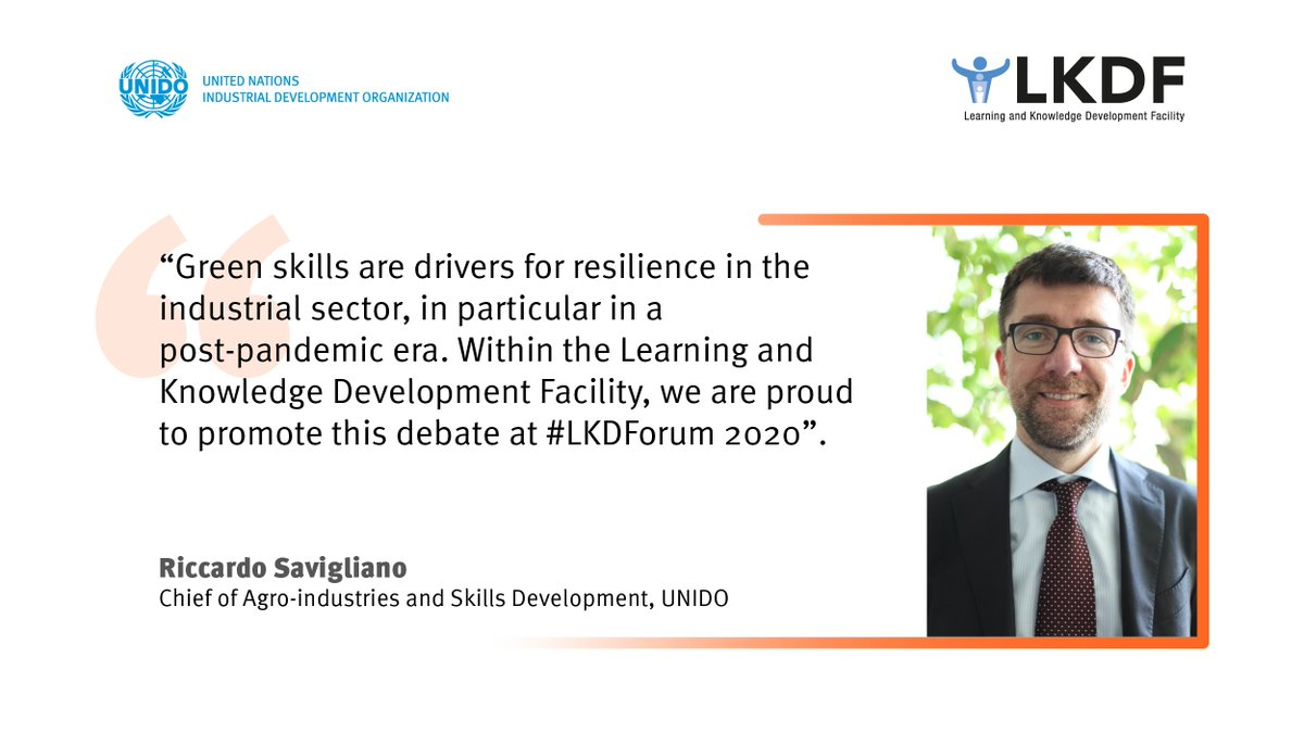 Register for our #LKDForum 2020 NOW 👉 https://t.co/rs06Ky243p  This is your chance to contribute to the debate on green industrial skills & collectively advance solutions for an inclusive & #sustainable future!  🗓️ 6-8 October 2020 https://t.co/BMcs7Yde57