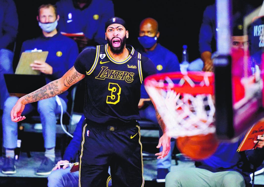 #PeriódicoHOY ¡FINAL DE PELICULA! Tiro de 3 puntos de Davis decide triunfo Lakers #DeportesHOY https://t.co/wchJ0A6BBd   #Película #Tiro #Puntos #Triunfo #Lakers https://t.co/6OE9J1Gohz