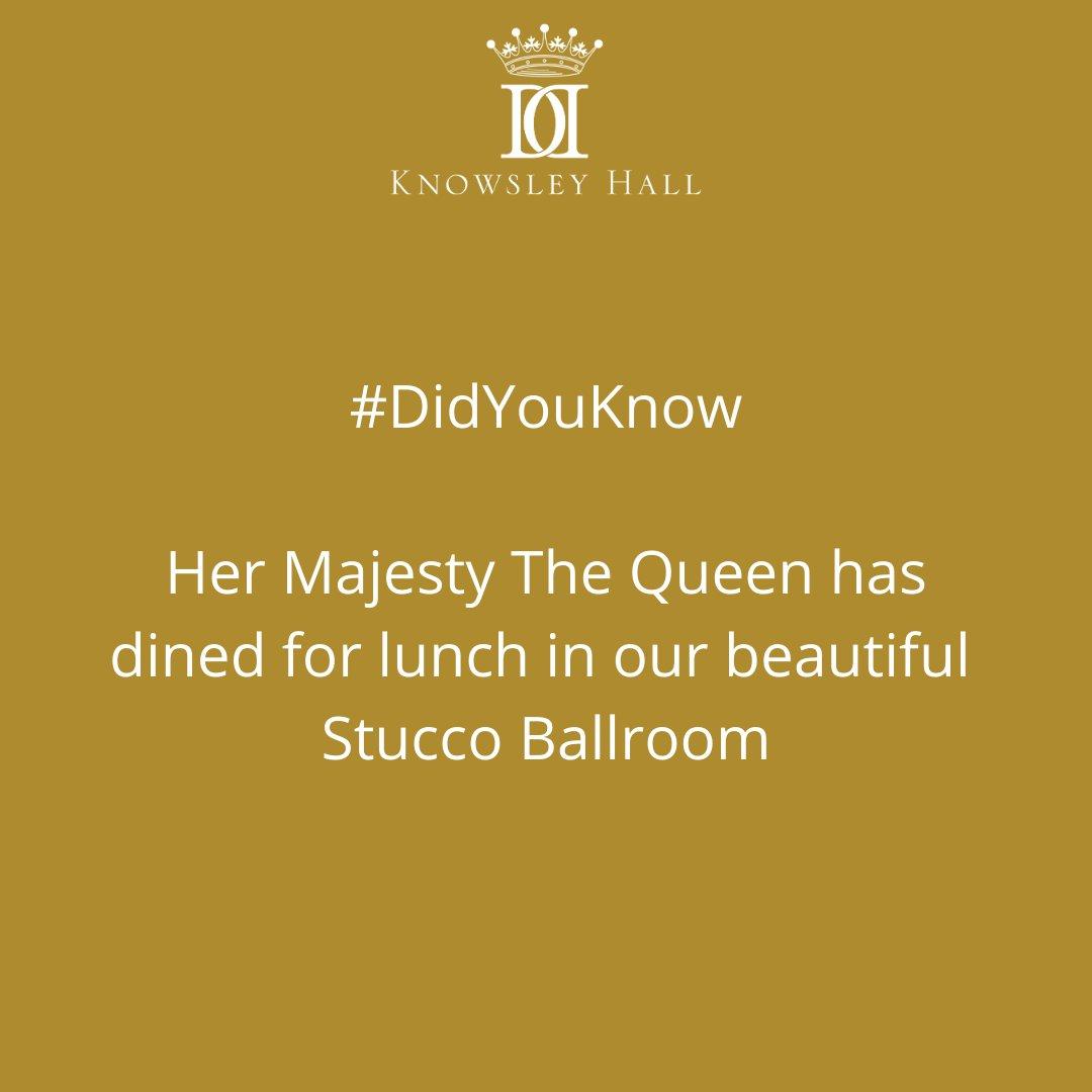 Facts about Knowsley Hall #DidYouKnow  #knowsleyhall #historichouse #statelyhome #history #historichouse #eventvenue #weddingvenue #hmthequeen #historicengland #royalvisit #royalty #queenelizabeth #royalfamily #thequeen #hermajesty #queenelizabeth2 https://t.co/iiEvLx14cP
