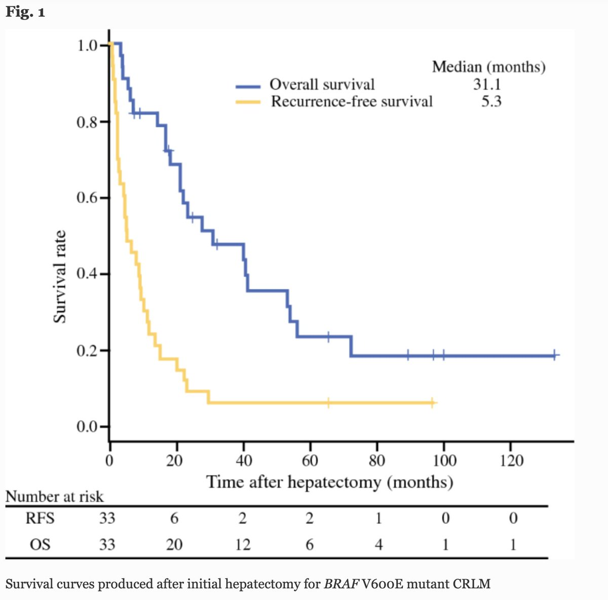 SEPTEMBER ISSUE: Survival Outcomes of Resected BRAF V600E Mutant #ColorectalLiverMetastases: A Multicenter Retrospective Cohort Study in Japan. https://t.co/W0sUbWMIEf @McMastersKelly  @SocSurgOnc https://t.co/Xlrw4jacaC
