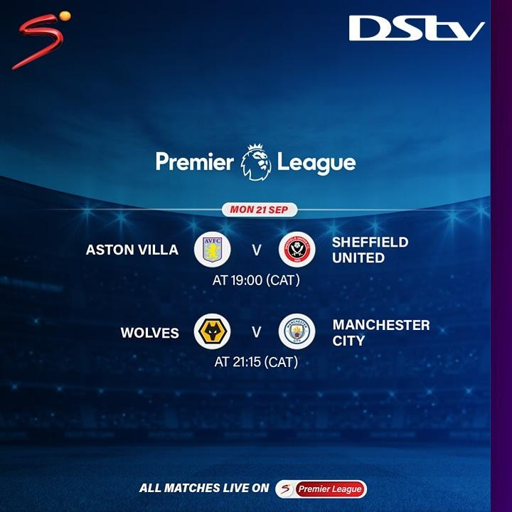 The second matchday of the Premier League wraps up tonight with two live matches on display. Reconnect NOW. #PL #WorldsBestFootball https://t.co/2ztXS4hcmX