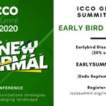 Image for the Tweet beginning: #ICCOGlobalSummit2020, to be held on