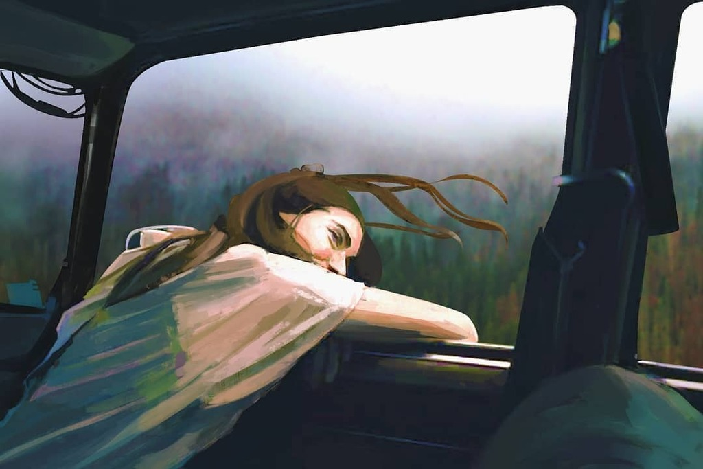 I was tring to animate it but failed again because of my potato pc .hoping for better future .do anyone else know static animation  #illusration #nature #beautifulnature #breathtaking #breathtakingview #insidecar #carinterior #freezing #digitalart #digit… https://t.co/MbgCwuBfo7 https://t.co/vyeYb3kPsd