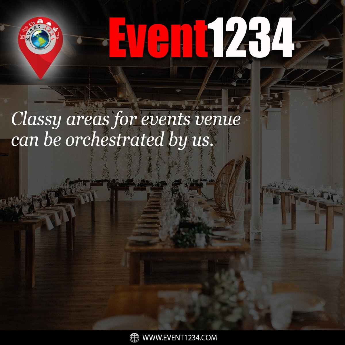 Classy areas for events venue can be orchestrated by us.  The Wait Will Be Over Soon... ♥️  #event1234 #events #venue #artist #sponser #sponsers #buying #selling #tickets #ticket #place #beautifulplace #destination https://t.co/G0BrD3V1w3