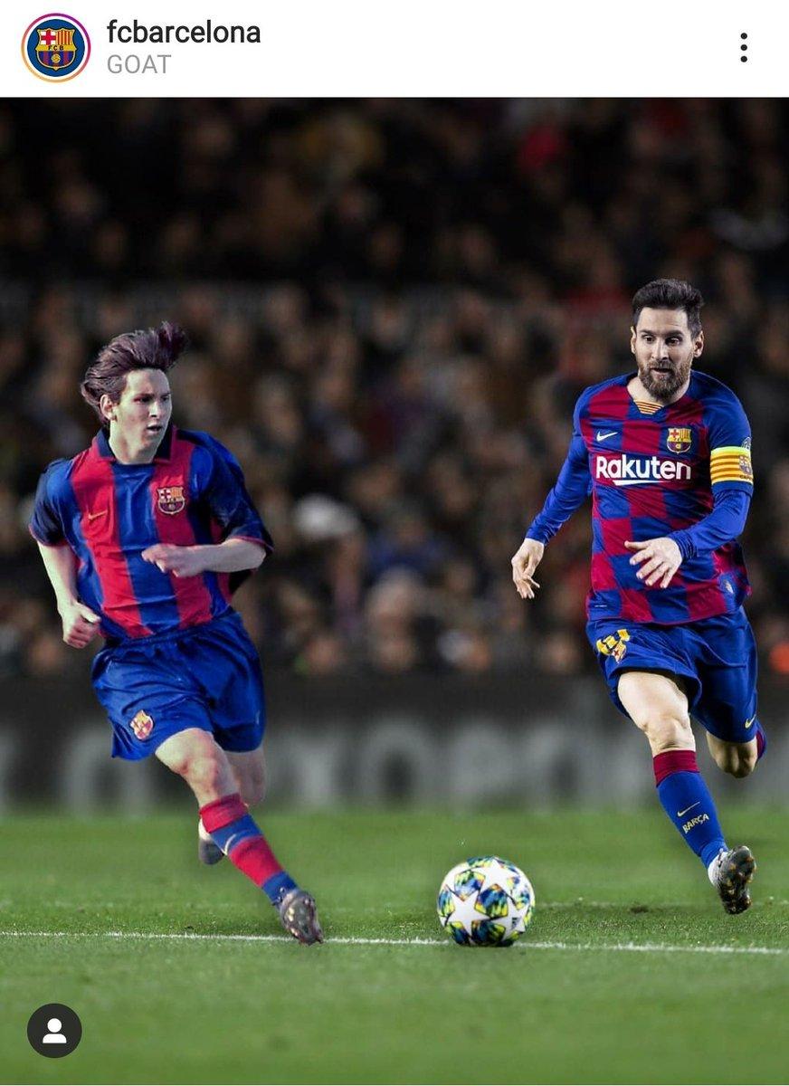 #GOAT #Messi #FCBarcelona @FCBarcelona https://t.co/uAdPqNeMCQ