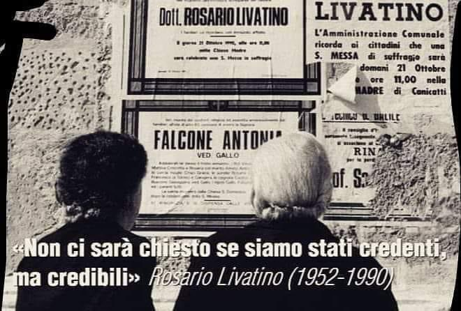 #RosarioLivatino