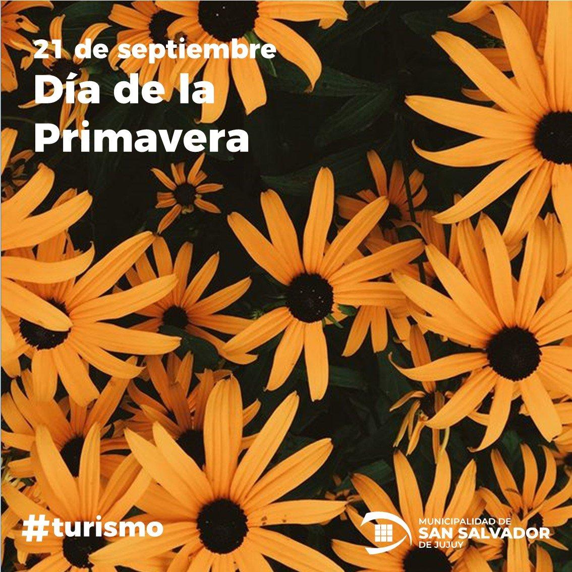 FELIZ DIA DE LA PRIMAVERA.!!!  🌻🌺🏵🌹🥀🌼🌷💮🌸💐 #jujuy #JujuyEnergiaViva #Turismo #VisitJujuy #Argentina #Primavera https://t.co/N7F29zliN6