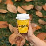 Today's good mood, sponsored by crunching through the leaves with a piping hot coffee in hand. #BlenzCoffee
