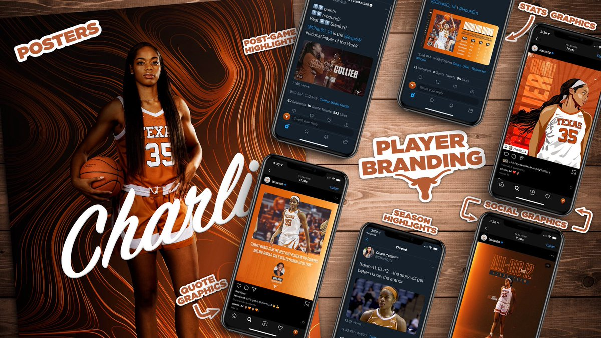 Keeping 🔥 on your feed. Building your brand. #HookEm | #LEVERAGE 🚀