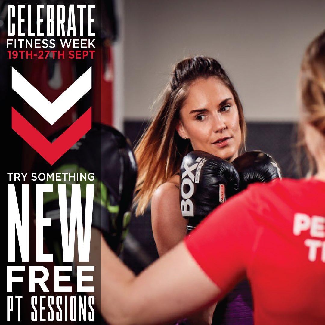 Celebrate fitness week, try something new…FREE PT Sessions  https://t.co/vOtB5sLK8Z  #trysomethingnew #fitnessweek #freept #offer #FREE https://t.co/9VdbnvIHzz