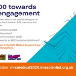Image for the Tweet beginning: 👩🔬Are you an MRC researcher