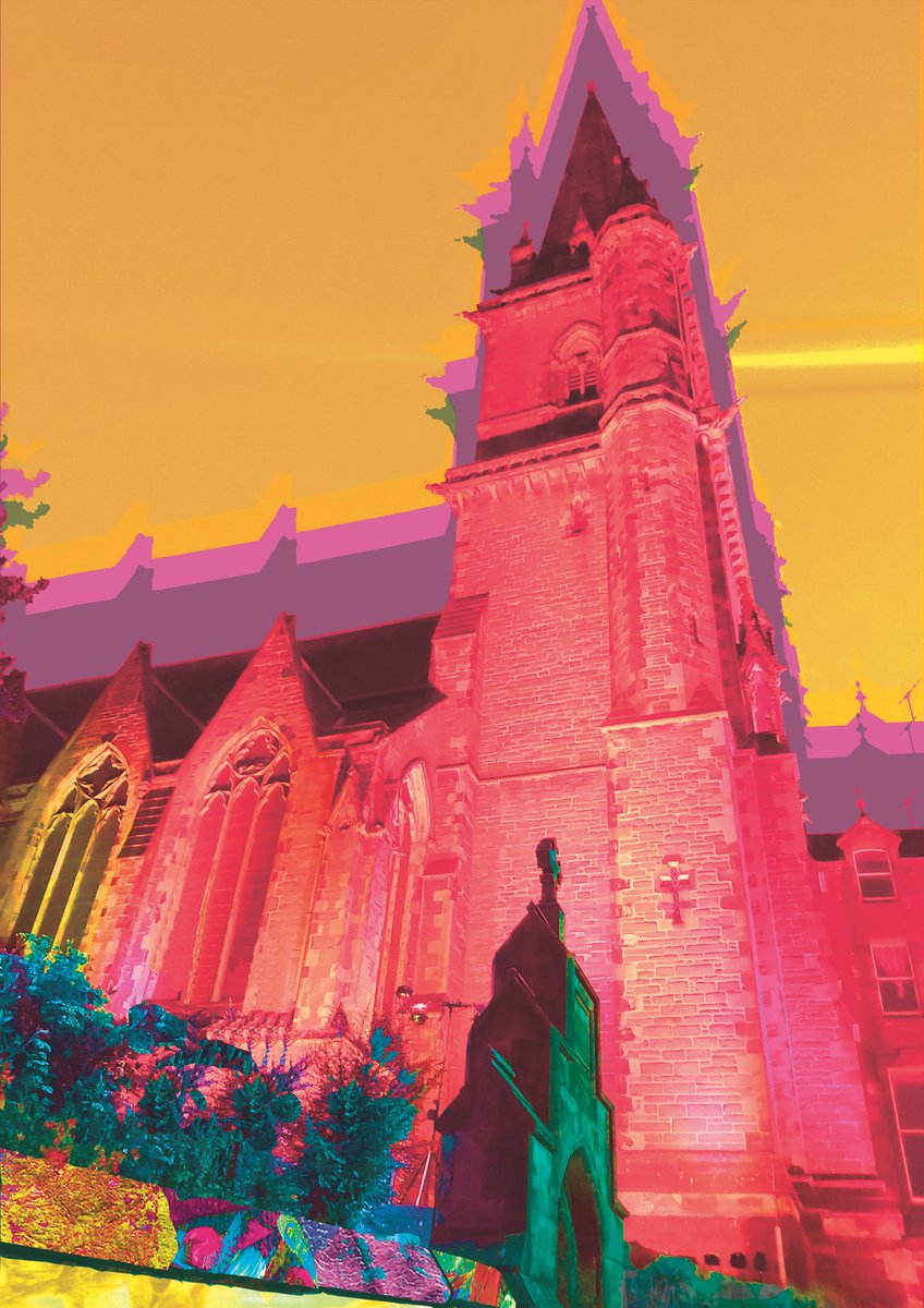 New print of St Paul's Cathedral in #Dundee Brighten up your world!! #MondayMood #Art #shopsmall  https://t.co/csJOgHKQqh https://t.co/5VBgwcvI67