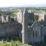 Image for the Tweet beginning: The Rock of Cashel in