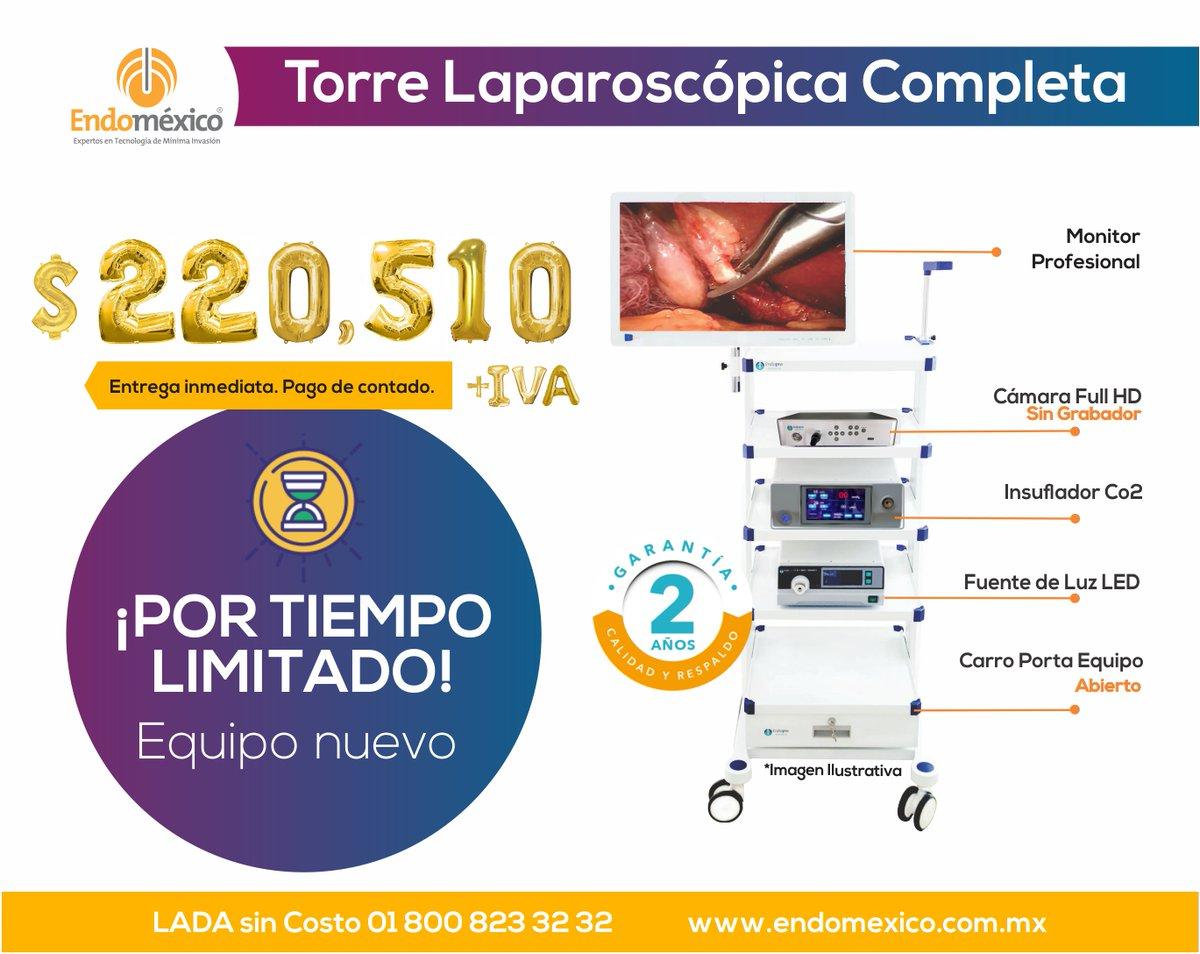🔥⚡️ Torre Laparoscópica Completa a súper precio ⚡️🔥  Manda un DM o: 📞 LADA sin Costo: 01 800 823 32 32 📱WHATSAPP: (+521) 22 24 55 99 75  #laparoscopia #endomexico #cirugia #cirujanos #laparoscopy #equipomedico #laparoscopistas #hospital #clinica #salud #quirofano https://t.co/V65LDPvDBi
