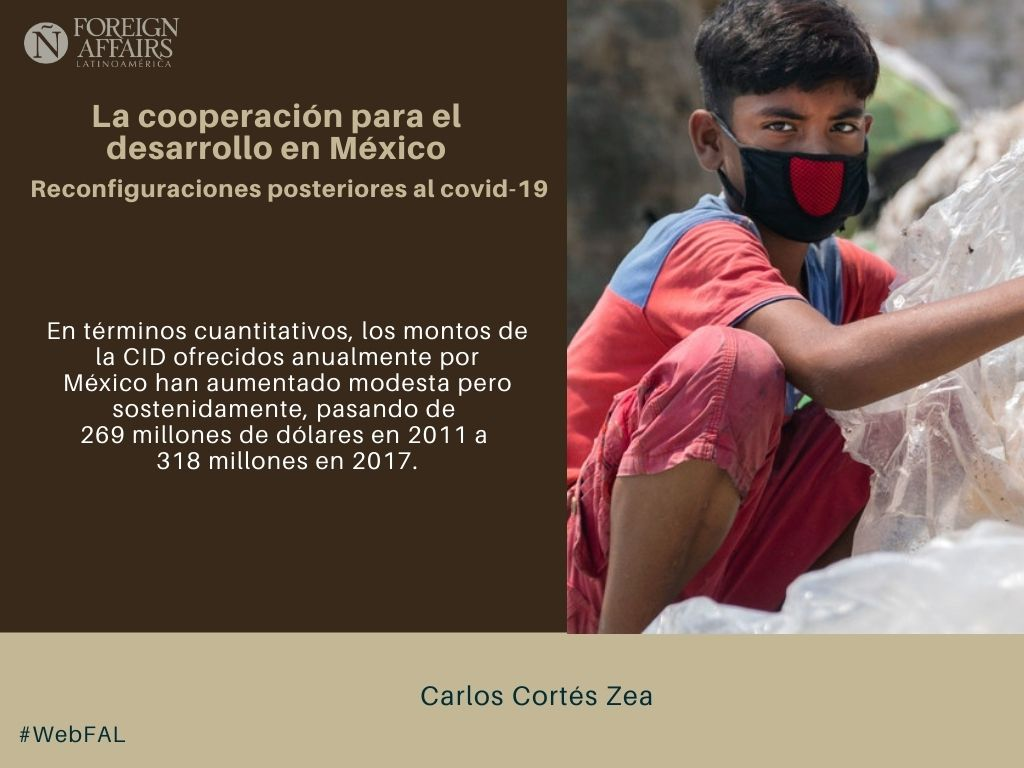"#LEE ""La cooperación para el desarrollo en México. Reconfiguraciones posteriores al covid-19"" de Carlos Cortés Zea (@CarlosCorZea ) en #WebFAL https://t.co/as3a37Nki0 https://t.co/HVxAi0b2wM"