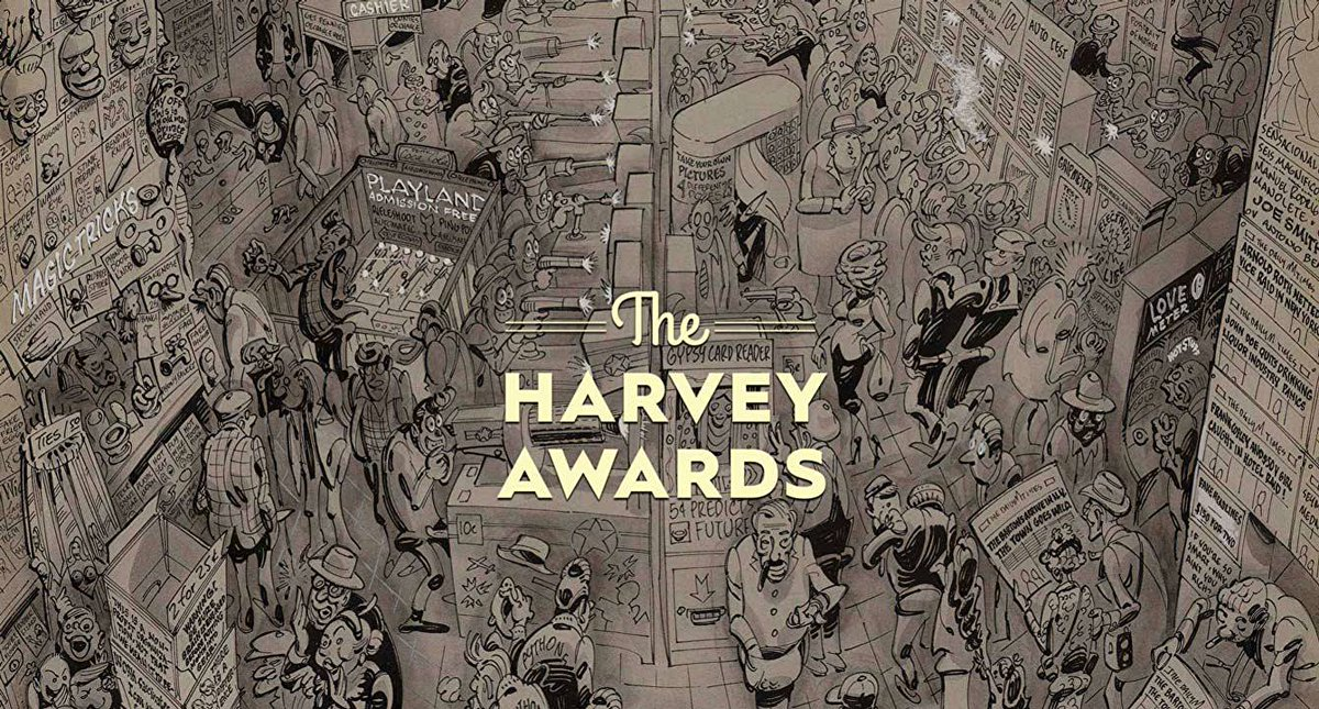 The Harvey Awards are the only industry awards selected by comic and publishing professionals. Voting closes tonight. Check out the complete list of 2020 Harvey Awards nominees. https://t.co/lfGXFZc2Fz https://t.co/ykqVq6hDML