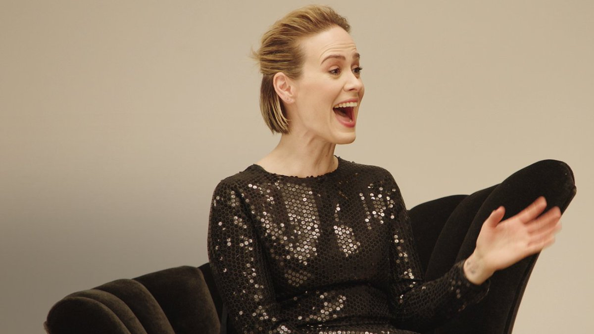 Ratched stars Sarah Paulson, Cynthia Nixon, Sharon Stone, and Judy Davis read from a 1940s Guide To Hiring Women … it goes about as well as you think it would.