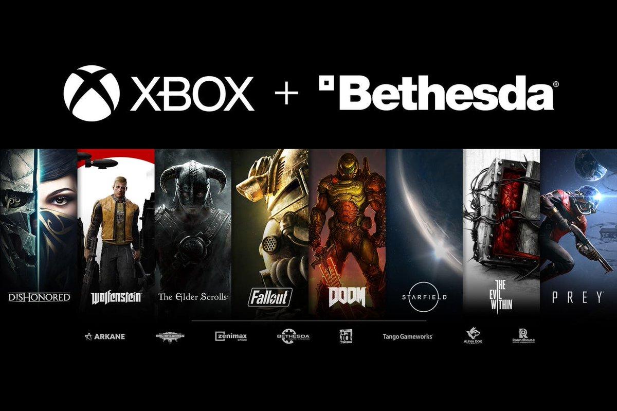 Microsoft compra al desarrollador de Fallout, Doom y otros juegos por US$ 7500 millones https://t.co/qq5WCeglxH https://t.co/gTQQURgFcA